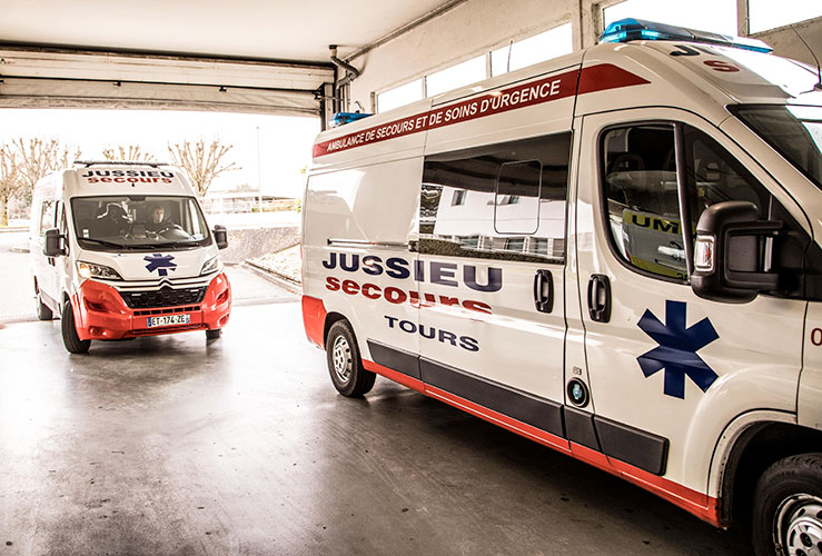 Ambulance JUSSIEU secours